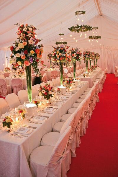 Beispiel: Hochzeitstafel, Foto: Lilli's Feststadl.