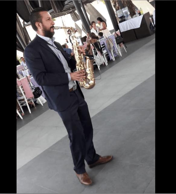 Saxofonista Fernando Carreto