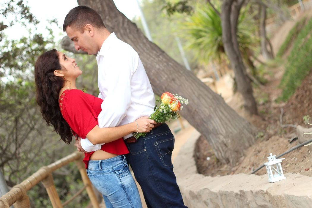 Pre Boda Christi & Julio - Loma Amarilla  Detalles en un lindo picnic romántico