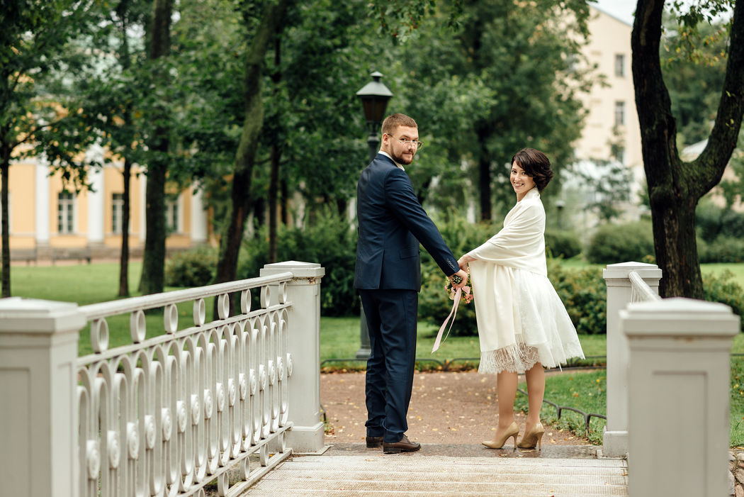 Свадебная фотосессия в Польском садике