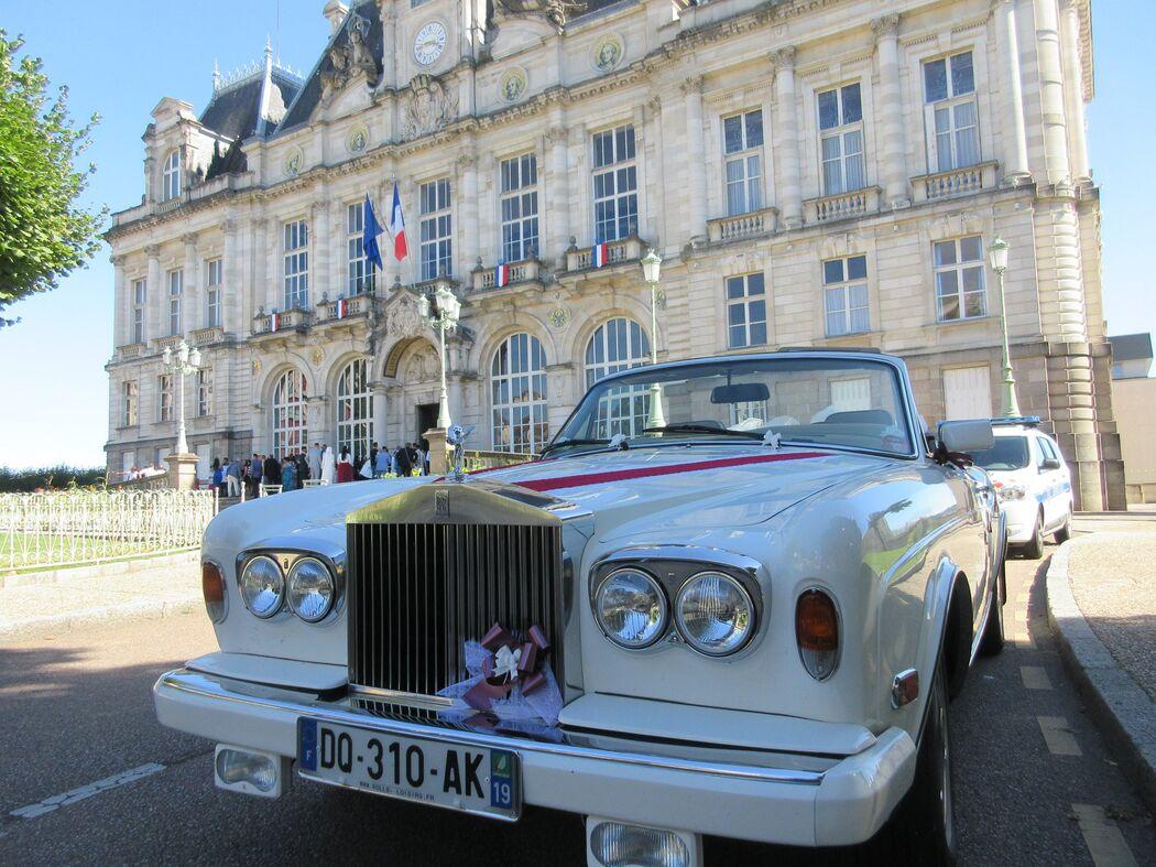 Voiture mariage Corrèze