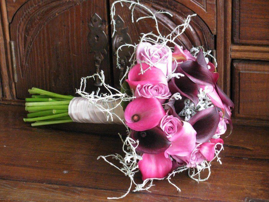 Bouquet de Noiva Jarros a dois tons