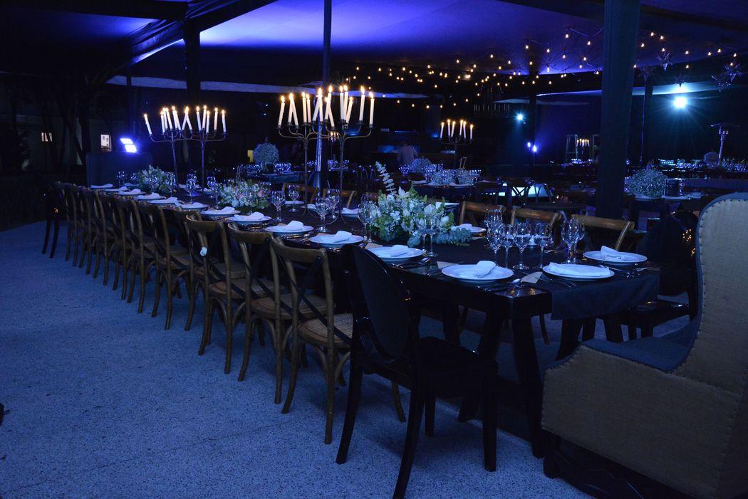 Montaje Banquete MG Ex Hacienda de Chautla