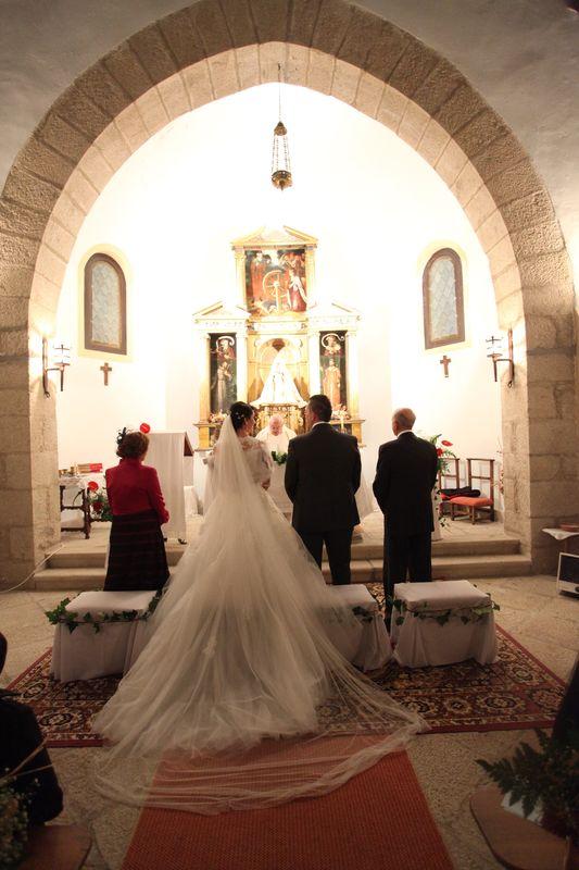 Enlace religioso en la capilla del Parador