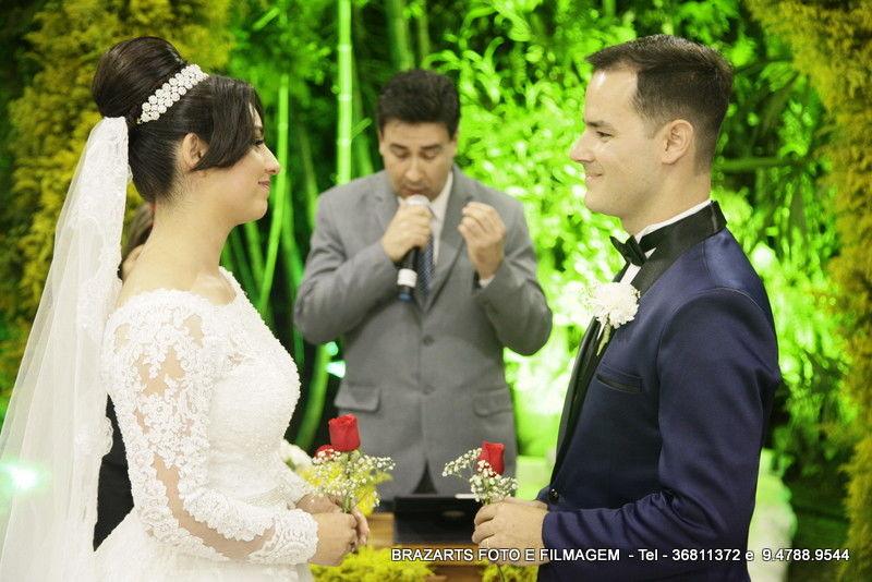 A romântica Cerimônia das Rosas