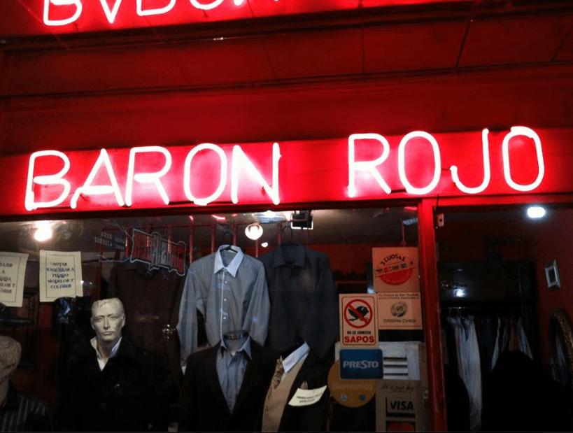 Sastrería Baron Rojo