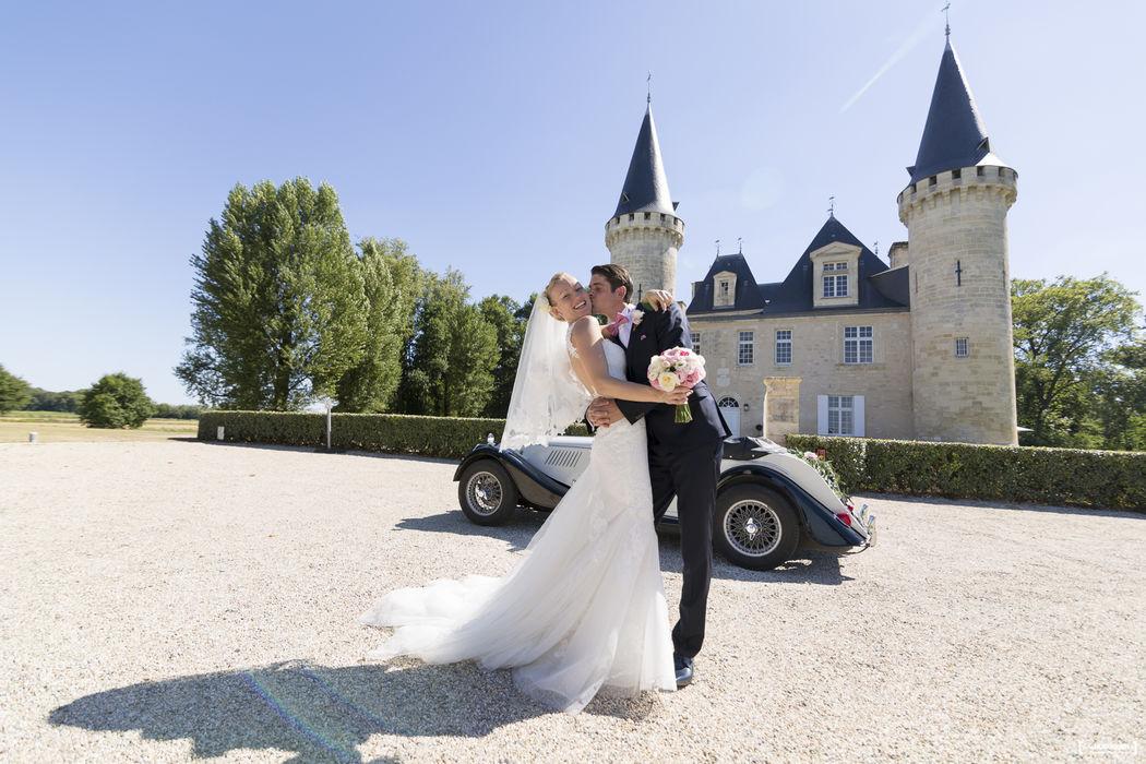 Mariage au Chateau d'Agassac à Ludon-Médoc, Bordeaux