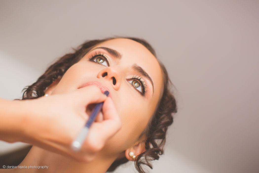 Maquillaje para novia de dia Giuliana