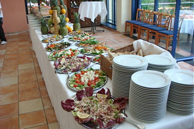 Beispiel: Italienisches Büffet, Foto: Casa Italiana Da Alberto.