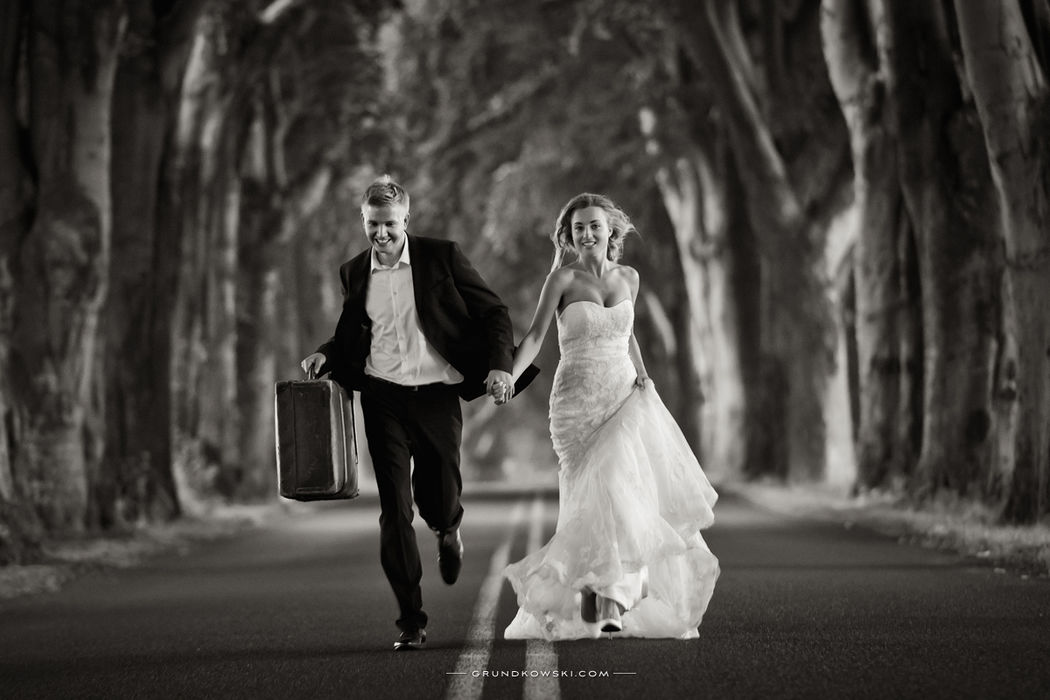 fotografia ślubna podczas seji w Koszalimie