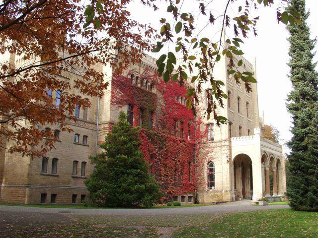 Beispiel: Wunderschöne Schlossfassade, Foto: Schloss Neetzow.