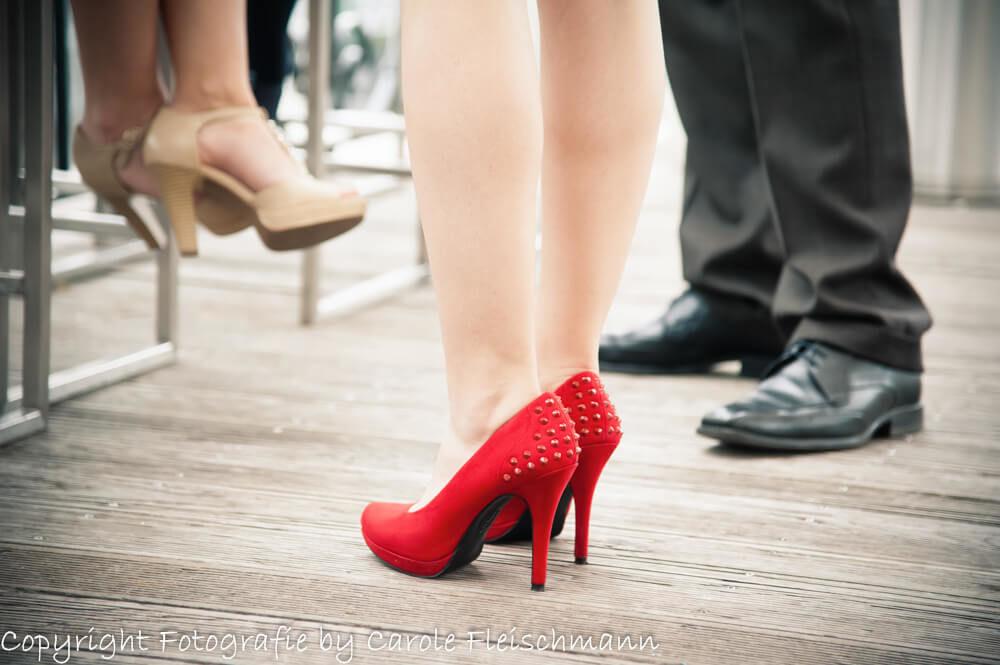 Beispiel:Rote Schuhe bringen Glück,Foto:Carole Fleischmann Fotografie