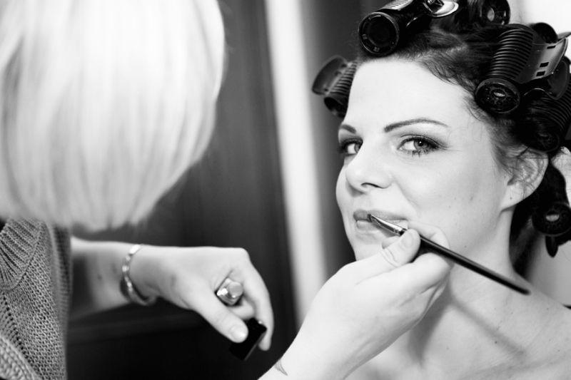 Beispiel: Braut, Foto: Angela Pfeiffer.