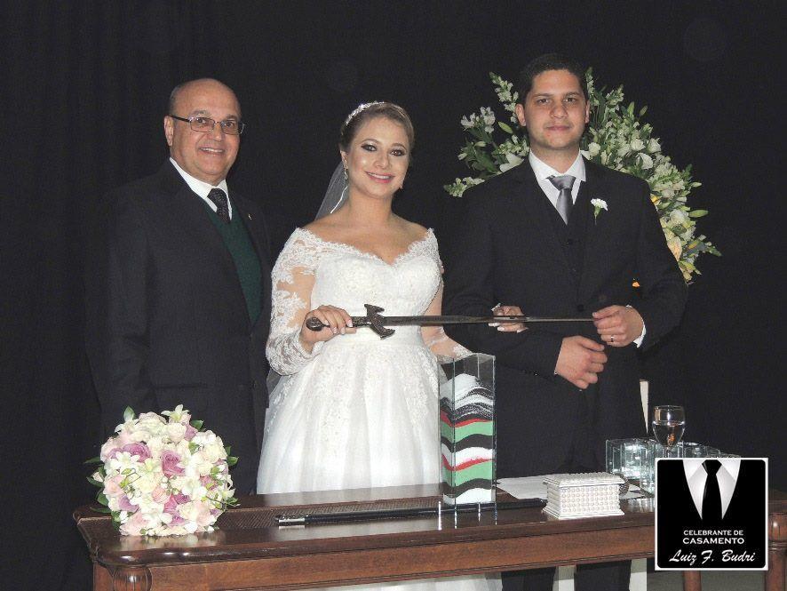 Celebrante de Casamento Luiz F. Budri