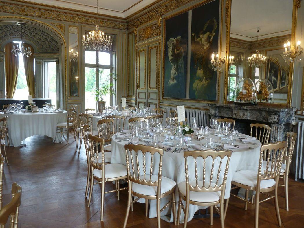 mariage au Château de pourtalès