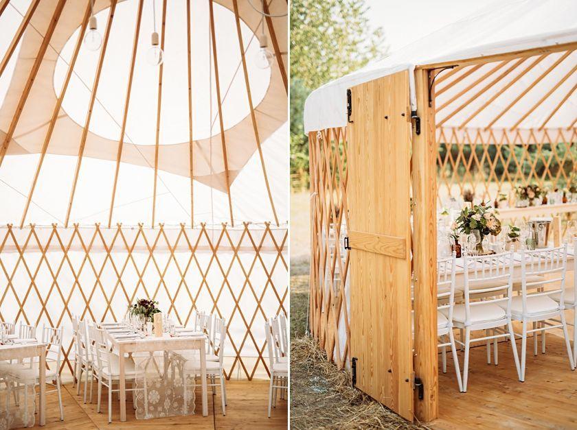 Wesele w jurcie, ślub w plenerze