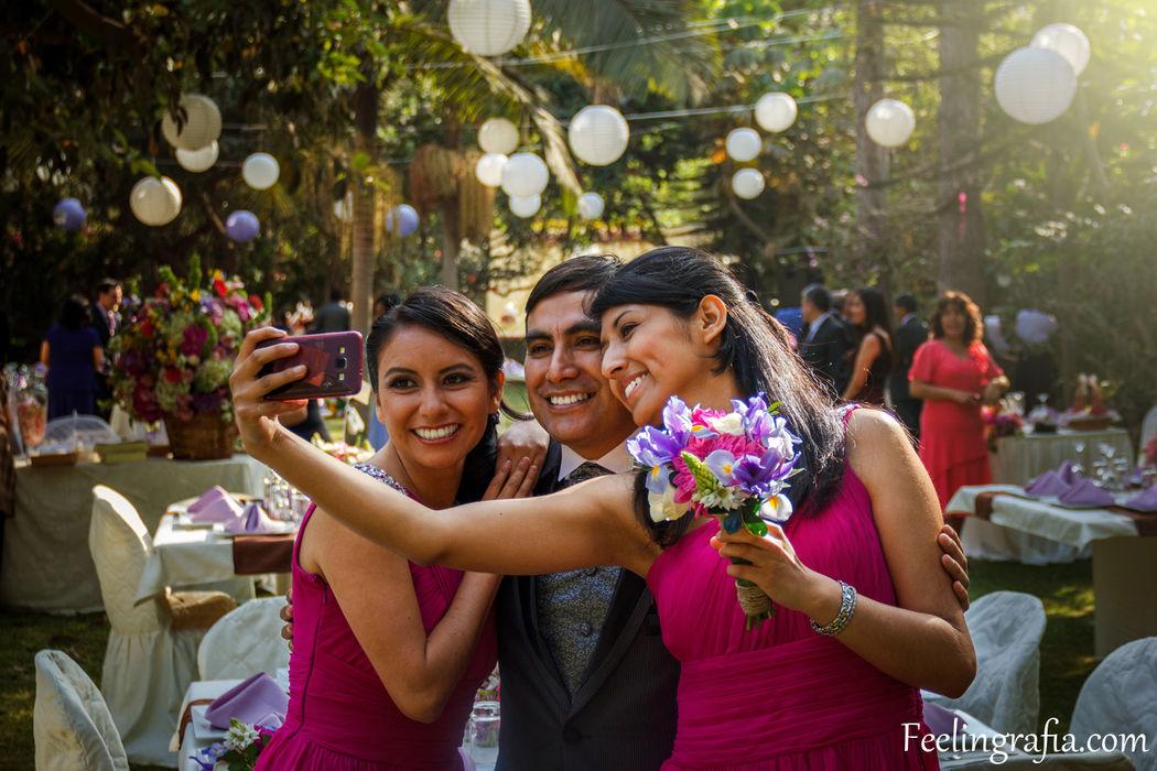 Los selfies tambien son partes del recuerdo