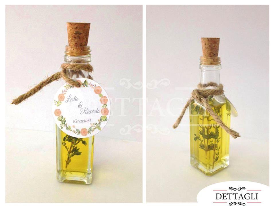 Mini Botella de Aceite de Oliva