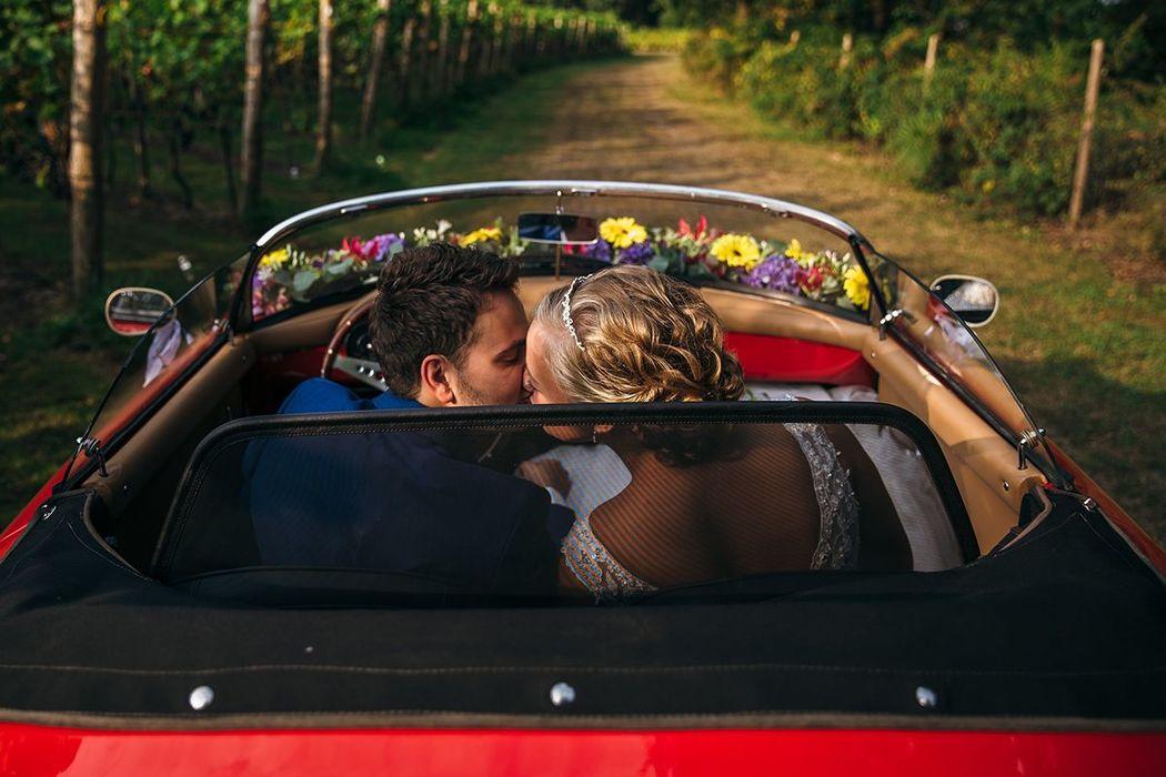 Cabrio ride.