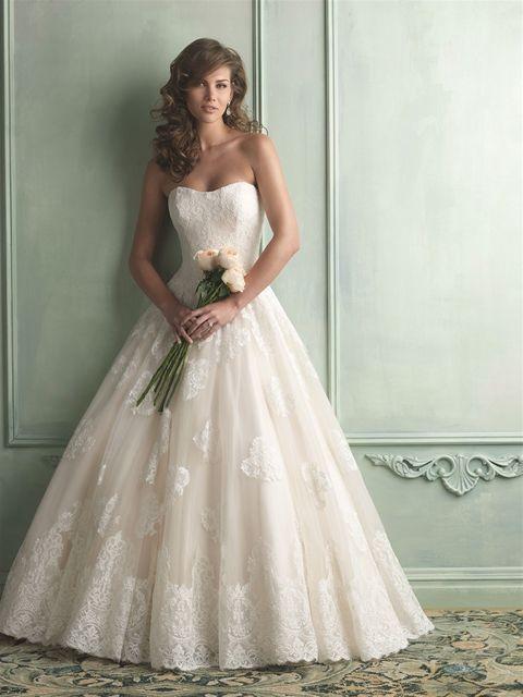 Marca: Allure Bridals. Modelo: 9121.