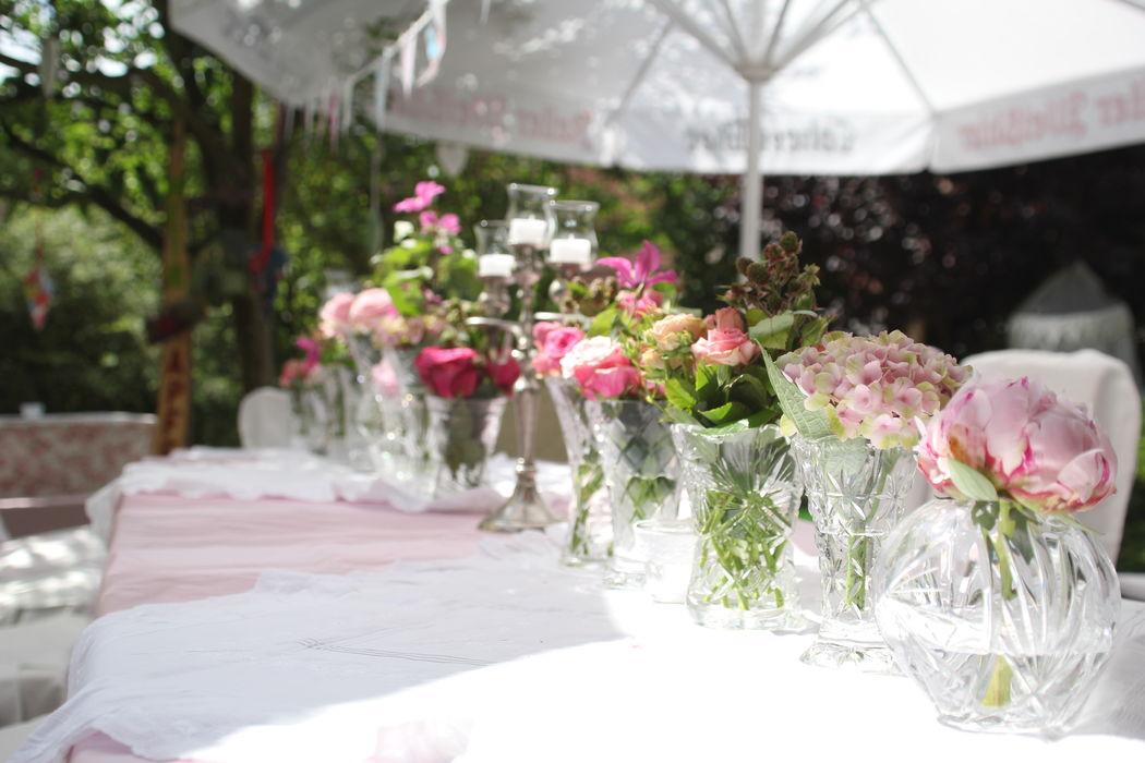 Sommerfest mit Blumenmeer...
