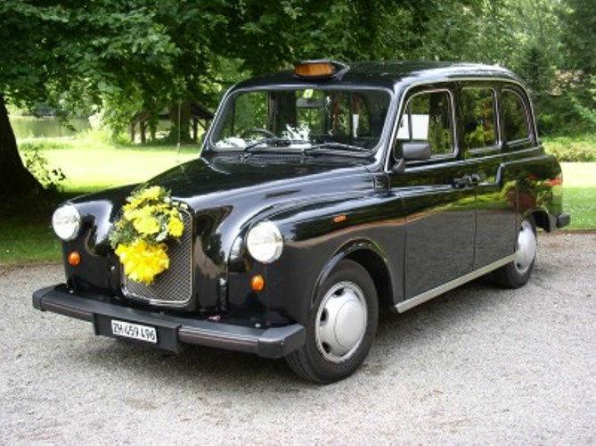 Beispiel: London Taxi, Foto: Londag.