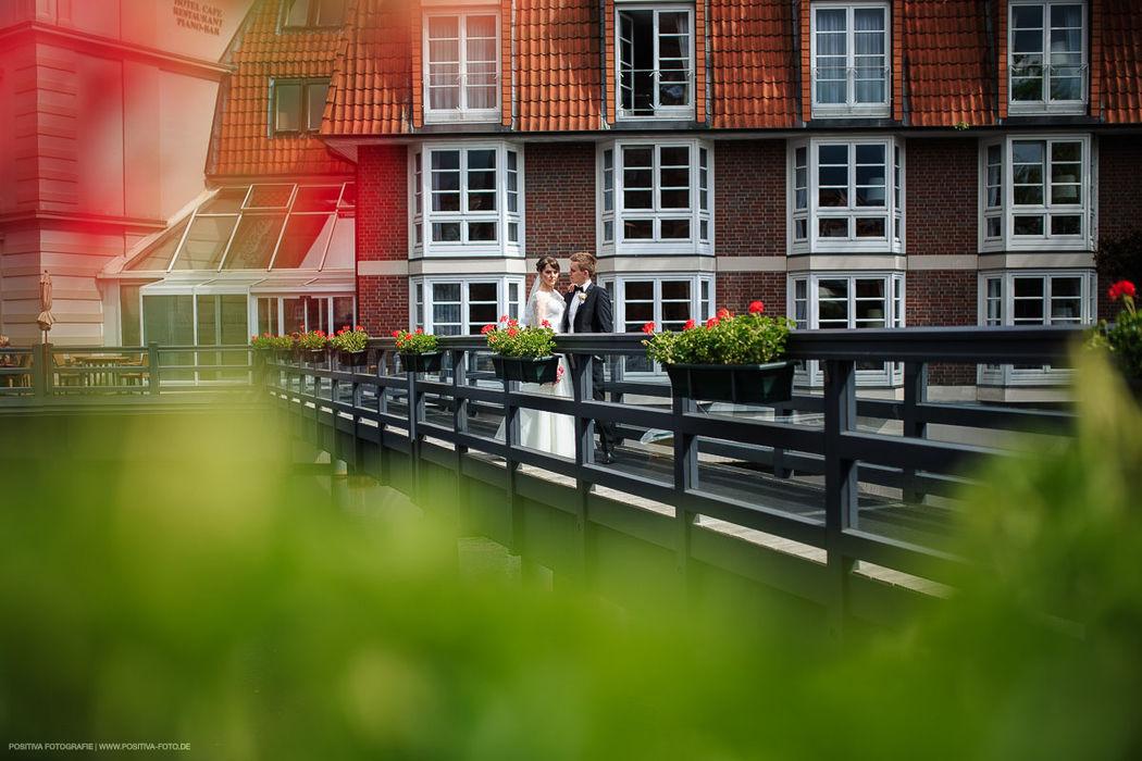 Braupaarshooting nach der Trauung in Lüneburg