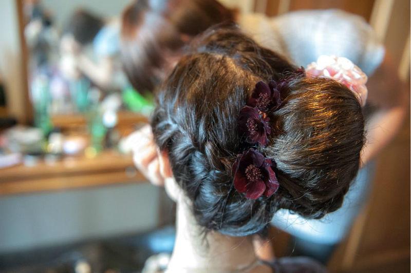 Beispiel: Fotos von den Vorbereitungen, Foto: Birgit Roschach.
