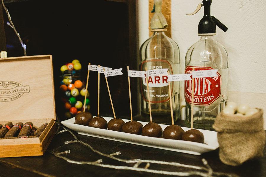 Cake pops mesa de dulces Cuba