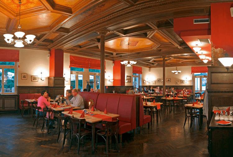 Beispiel: Restaurant, Foto: Mückenschlösschen Leipzig.
