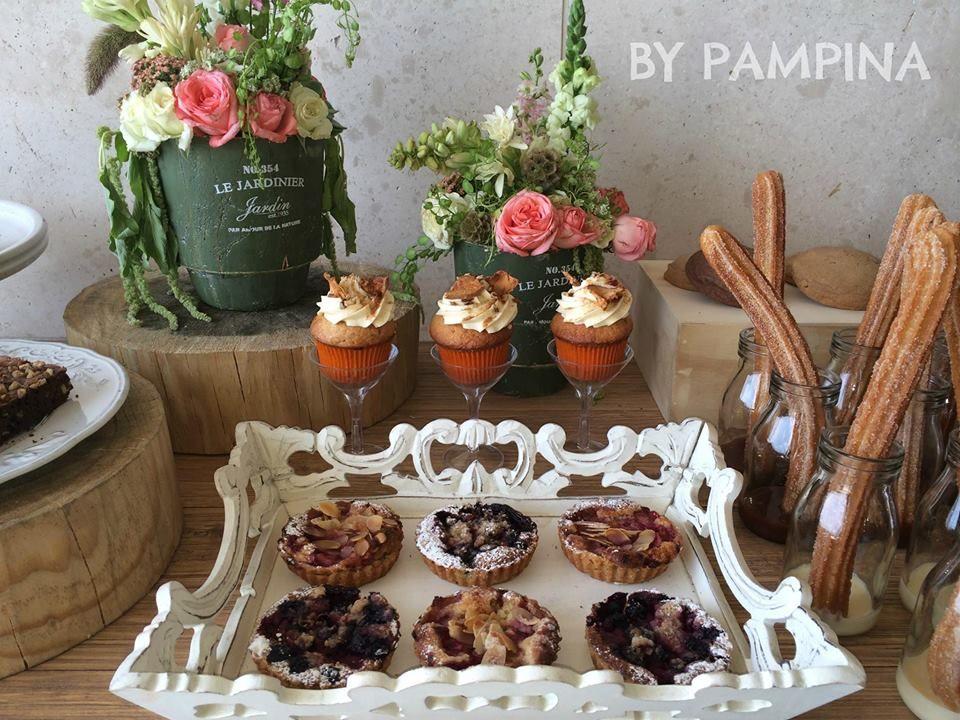 Mesas de postre para tus invitados