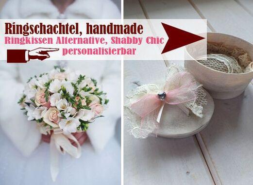 handgefertigte Ringschachteln als Ringkissen Alternative - LoveLi Hochzeitsplanung Onlineshop