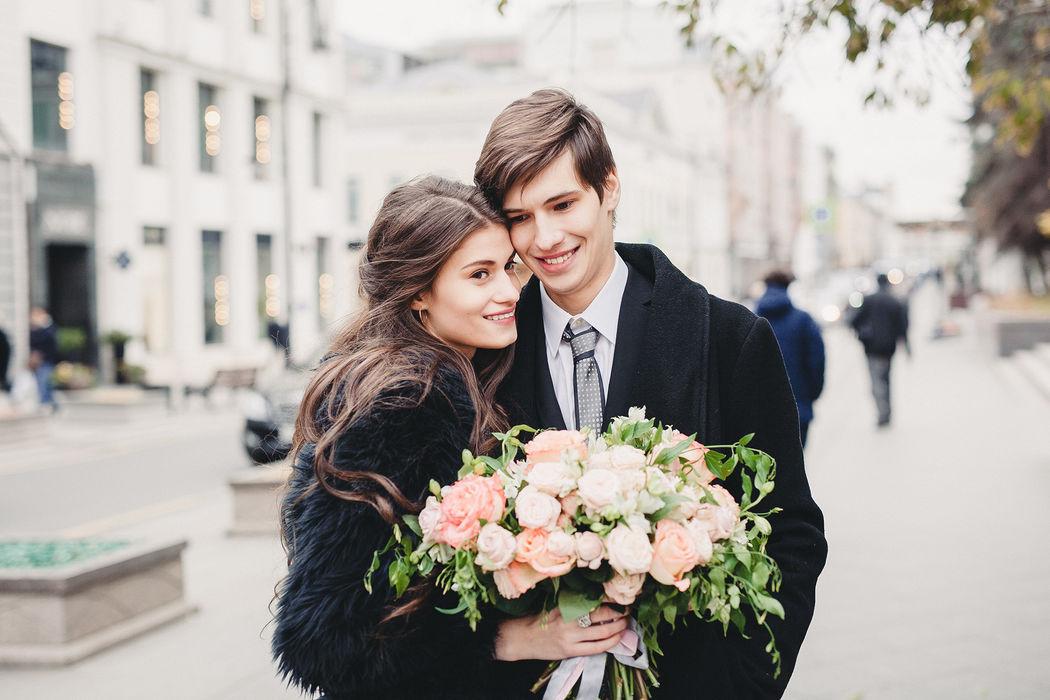 свадебная прогулка Василисы и Вадима в историческом центре города