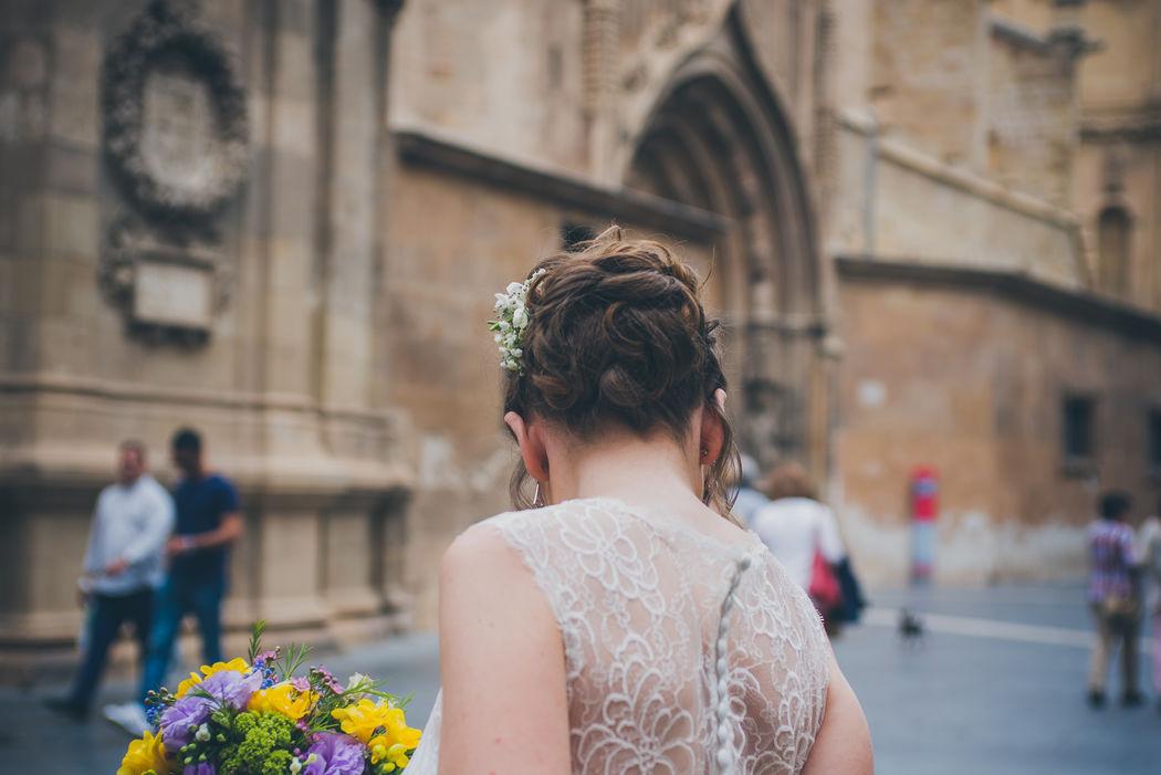 G+F La novia - efeunoocho fotografía de boda