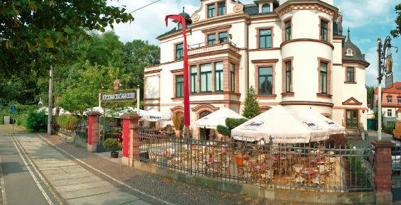 Beispiel: Außenansicht, Foto: Mückenschlösschen Leipzig.