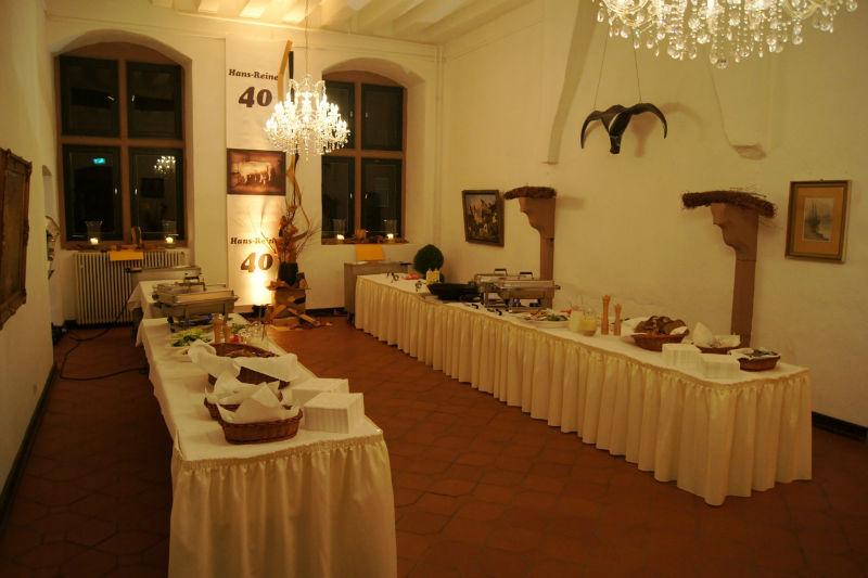 Beispiel: Buffets und Menüs für Ihre Hochzeit, Foto: A-Z Erftland Partyservice.