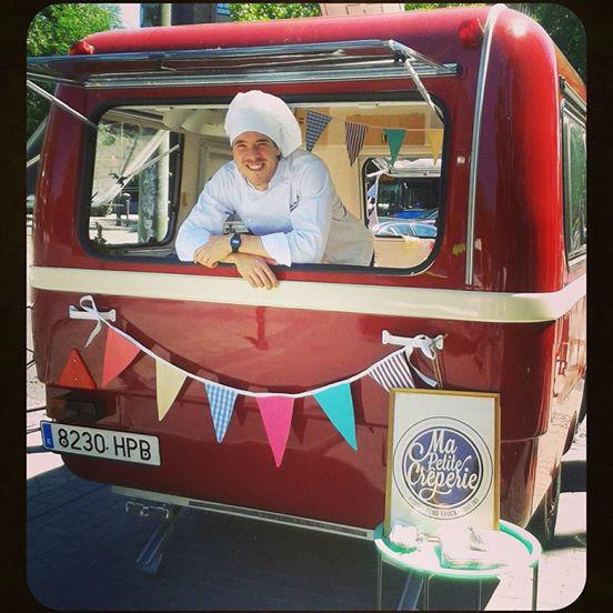 Ma Petit Crepêrie, food caravan