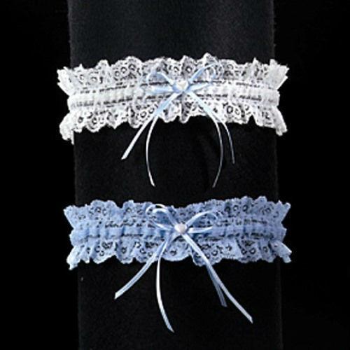 Beispiel: Strumpfbänder, Foto: Braut Boutique.