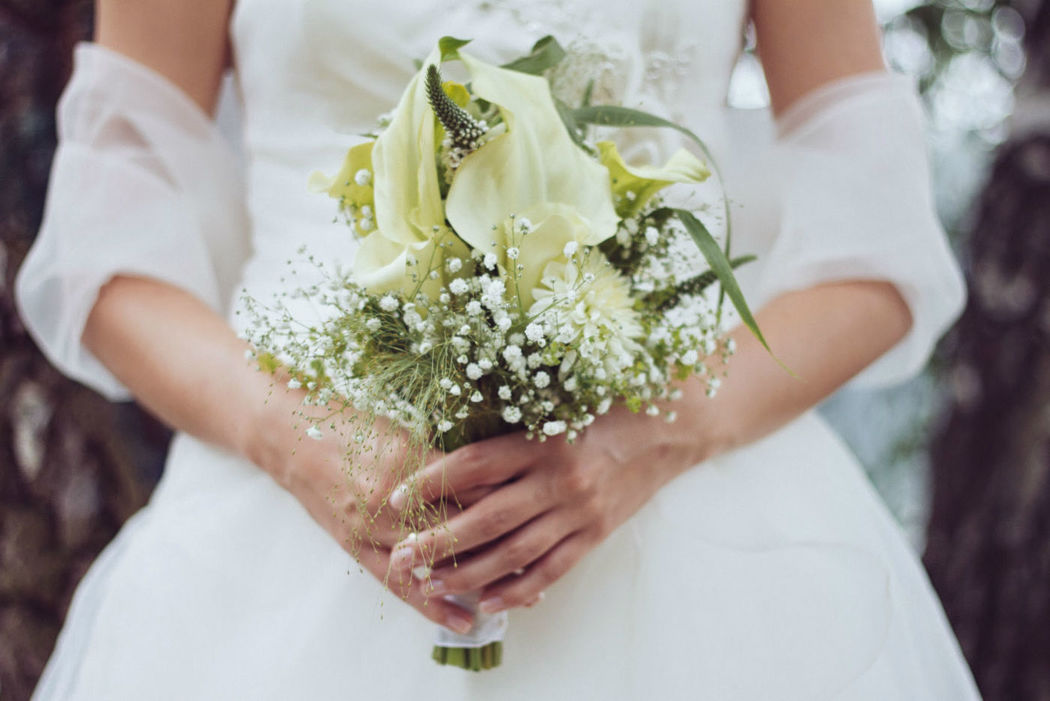 Beispiel: Hochzeitsfloristik, Foto: Floristik Lounge.