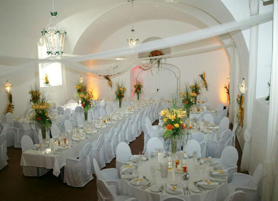 Beispiel: Festsaal Maestoso, Foto: Hotel Restaurant Knappenstöckl.
