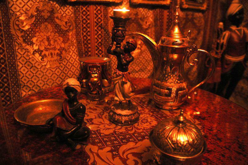 Beispiel: Orientalischer Tee, Foto: MADI - Zelt der Sinne.