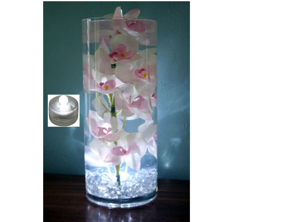 Velas LED tea light sumergibles