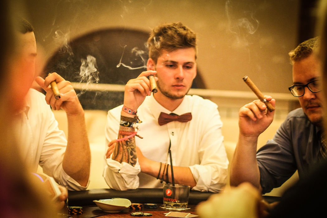 Poker & Cigars for those who dont like dancing ;)