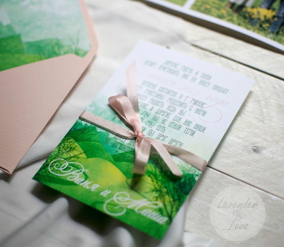 Lavender and Love - свадебная полиграфия и декор