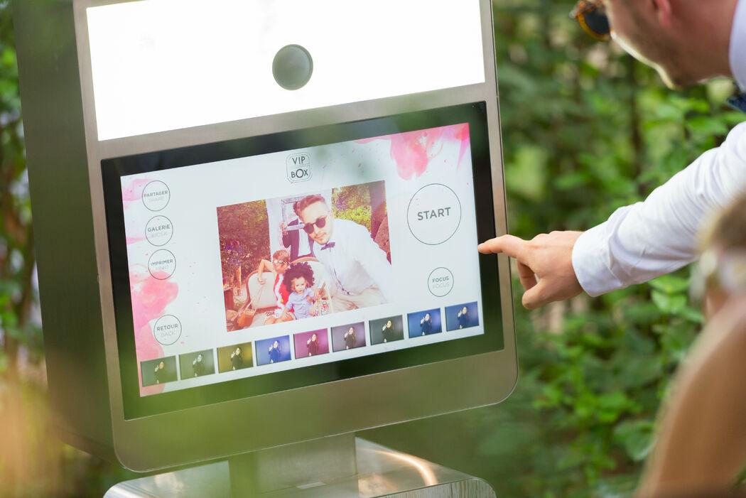 vipbox - photobooth mariage marseille