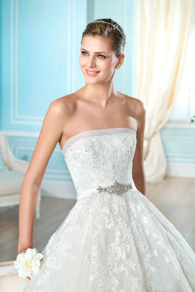 Beispiel: Wunderschöne Brautkleider, Foto: Mery's Couture Aarau.