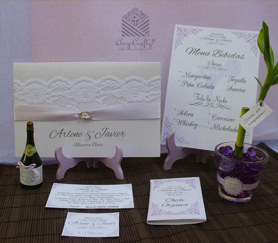 Grupa boda Arlene y Javier