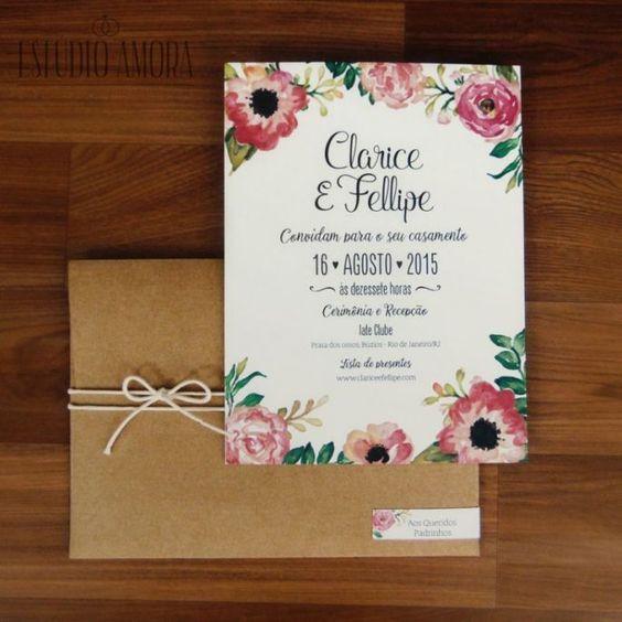 Convite Elegante