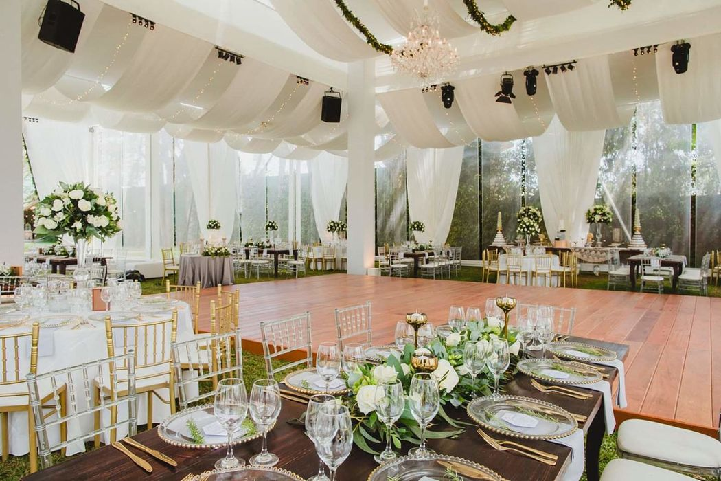 Recepciones y Catering con Jardin -  Olivos Vintage Style