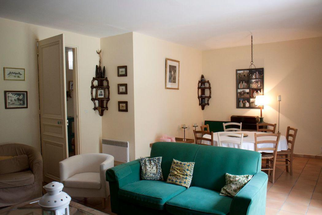 Gîte Little  5 chambres salon